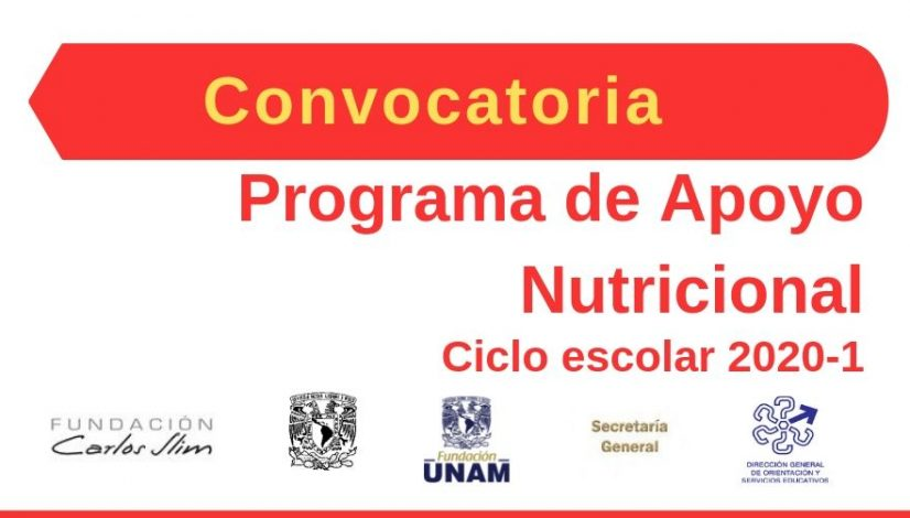 Convocatoria beca nutricional